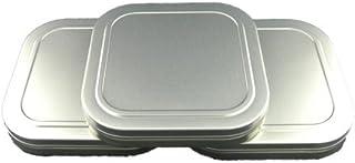 足柄製作所 映画用フィルム缶 16mm 200ft 内径126mm 角缶 ゴールド 3缶セット 小物入れ 雑貨缶