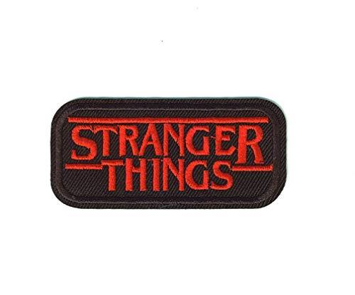 SET PRODUCTS Parche Termoadhesivo de Stranger Things - Iron-on Patches para Personalizar su Ropa o Bolsos - CREA tu Propio Estilo! - Varios Modelos Disponibles
