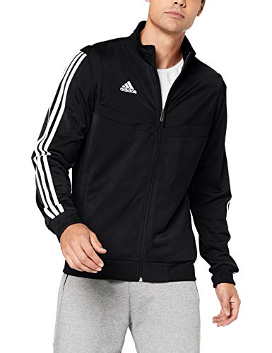 adidas Tiro 19, Giacca Uomo, Nero (Black/White), XL