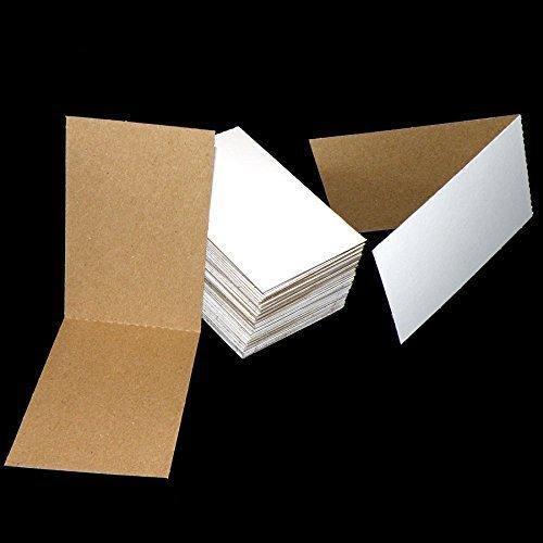 50 Cardboard Sleeves Folded Flat Vending 3