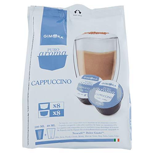 Gimoka - Capsule Compatibili Nescafè Dolce Gusto, Gusto Cappuccino - 64 Capsule