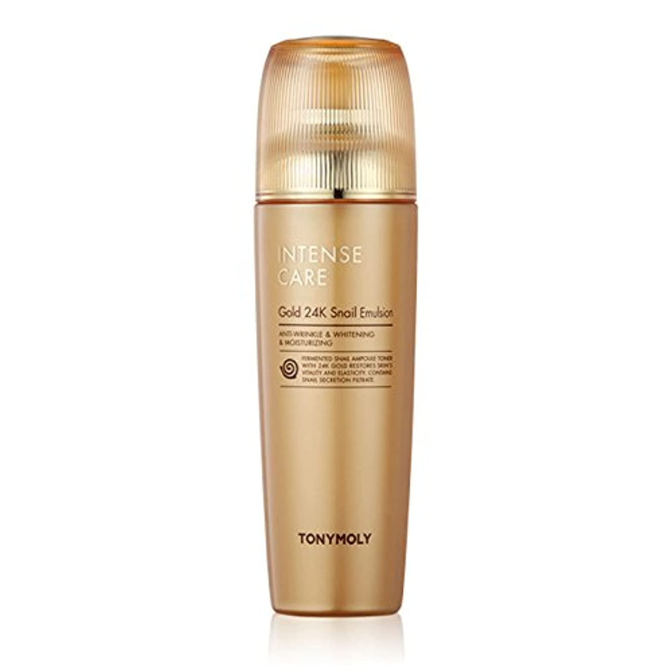 羊のマーカーレーニン主義TONYMOLY Intense Care Gold 24K Snail Emulsion 140ml