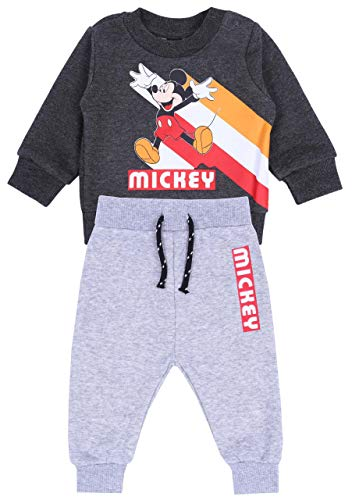Chándal Gris de niño Mickey Mouse Disney 9-12 m 80 cm