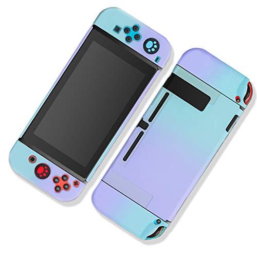 Homi2019 Funda acoplable para Nintendo Switch, funda protectora para Nintendo Switch y mandos Joy-Con