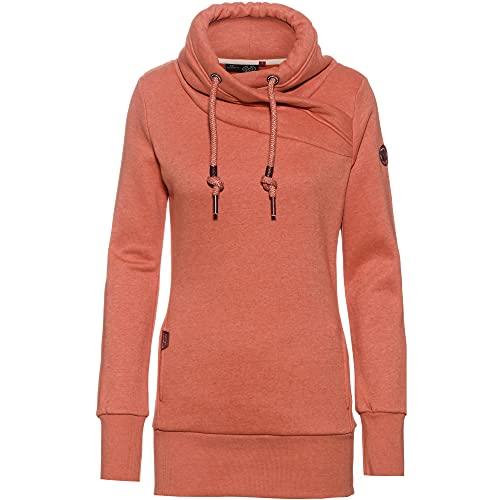 Ragwear Damen 'Neska' Sweatshirt, Rosa