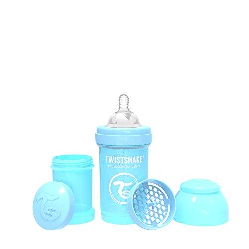 Vital Innovations 78250 Trinkflasche Twistshake Anti-Kolik, 180 ml, blau