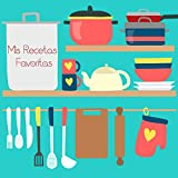 Mis recetas favoritas: Mi Cocina. Libro de recetas en blanco personalizado para crear tus propios platos deliciosos - XXL - cuaderno de recetas de cocina para escribir hasta 100 recetas