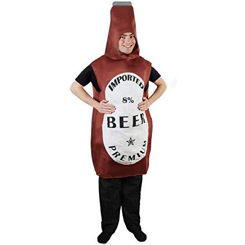Tigerdoe Beer Bottle Costume - Beer Pong Costume - Halloween Costume - Mascot Costume