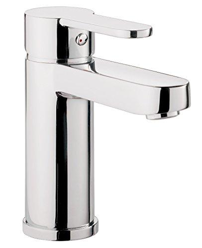 'aquaSu® Einhandmischer Sanmix Style für Waschtisch | Chrom | Wasserhahn | Einhebelmischer