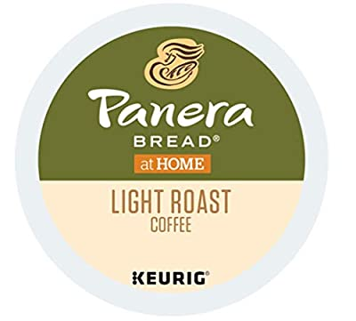 Panera Bread Single Serve Capsules for Keurig K-Cup pod Coffee Brewers, 24 Count (Light Roast)