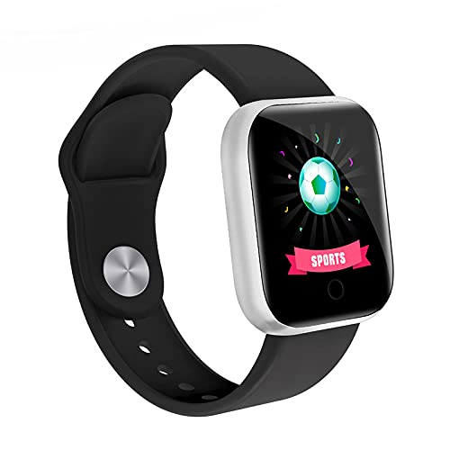 Smart Watch  Fitness Tracker with Heart Rate Monitor  Activity Tracker with 1.44 Inch Touch Screen Waterproof Sleep Monitor Activity Tracker Pedometer for Women and Men for iPhone Android