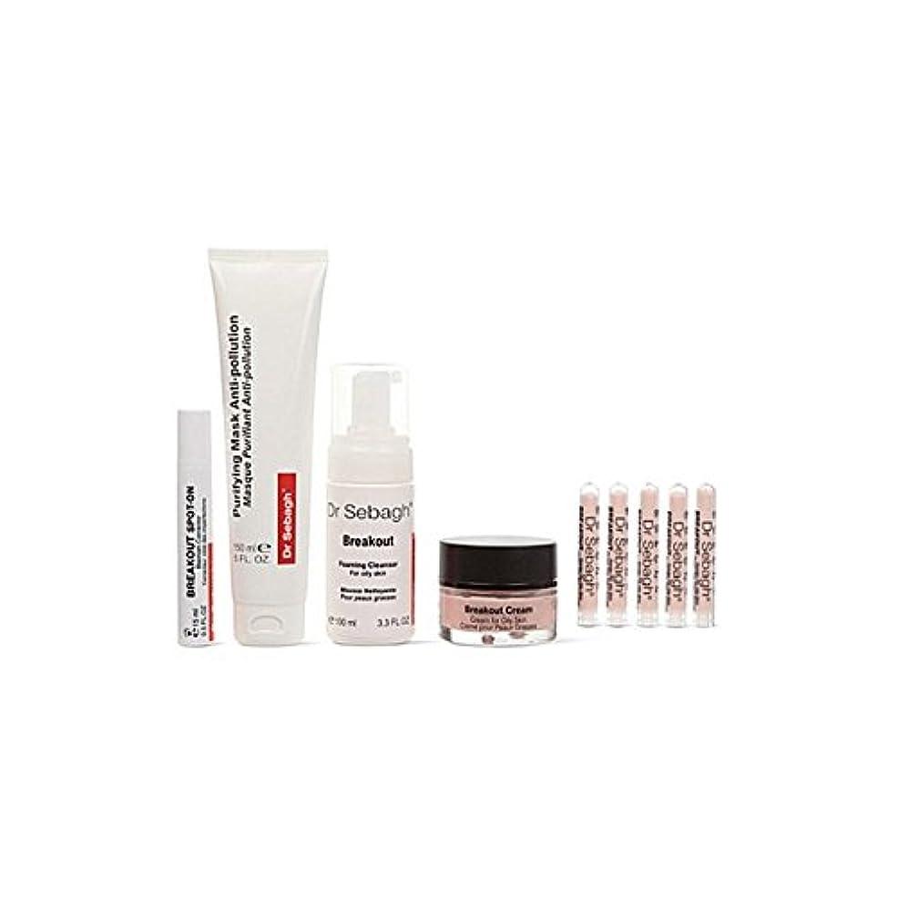 西部上記の頭と肩知人Dr Sebagh Skin Perfecting Kit (Pack of 6) - スキン完成キット x6 [並行輸入品]