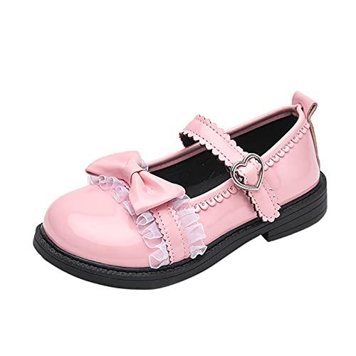 YWLINK Zapatos De Cuero Para NiñOs,Zapatos De Princesa De Suela Blanda,Zapatos...