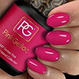 Pink Gellac Esmalte de uñas Shellac de 15 ml para lámpara UV LED | 247 rosa sorbete, esmalte de uñas de gel para lámpara UV | esmalte de uñas LED