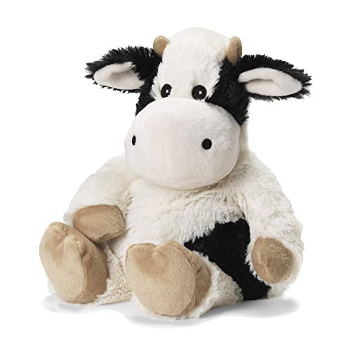 Intelex Warmies Microwavable French Lavender Scented Plush, Black & White Cow Warmies