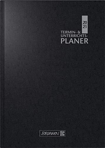 BRUNNEN 1075960901 Wochenkalender/Lehrerkalender 2020/2021, Termin- & Unterrichtsplaner, Lehrer-Sortiment
