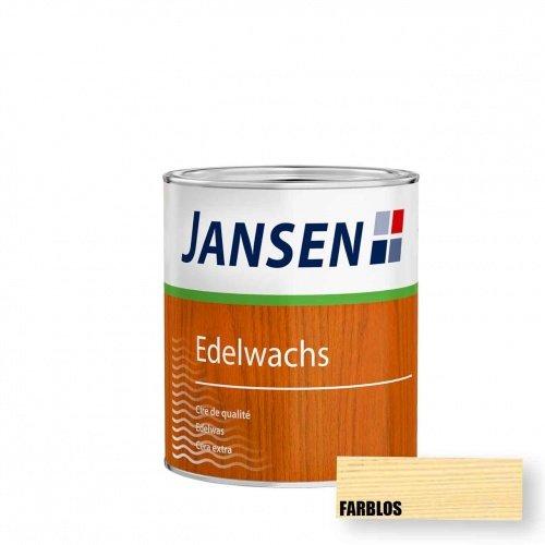 Jansen Edelwachs farblos 0,75l   Holzwachs