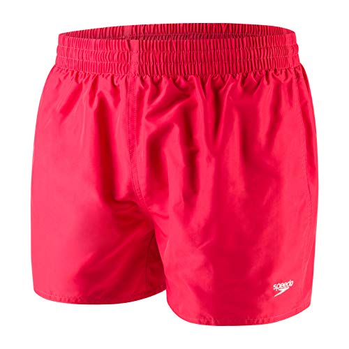 Speedo Fitted Leis 13 Wsht Am, Boxer Mare Uomo, Rosso Lava, XL