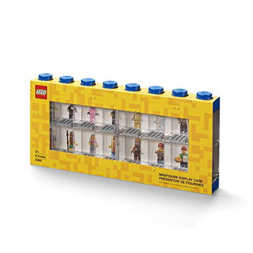 ROOM COPENHAGEN Lego 4066 - Vitrina de minifiguras 16, azul, L
