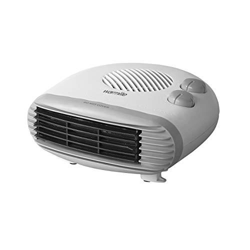 Warmlite WL44004 Portable Flat Fan Heater, 2000 W