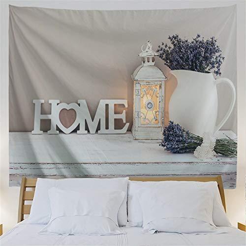 QIYI Tapiz de pared para dormitorio de tela colorida cartel cama cabecero grande tapices sala de estar arte manta de pared ligera al aire libre playa Coverlet 230 cm x 153 cm – Shabby Chic