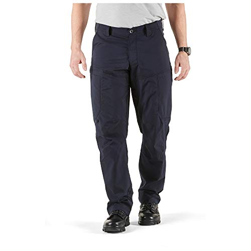 5.11 Tactical Series APEX Pant Homme, Dark Navy, FR : S (Taille Fabricant : 32)
