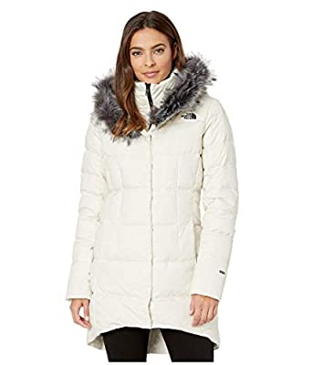 The North Face Women's Dealio Down Parkina, Vintage White, M