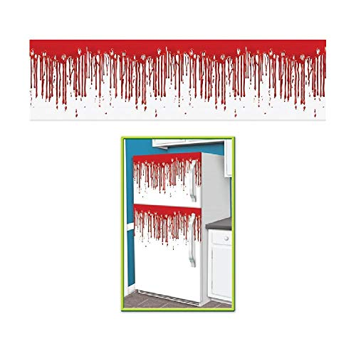 Bargain World Dripping Blood Fridge Border (with Sticky Notes)