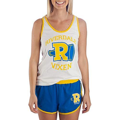 Riverdale Gym Outfit Riverdale Vixens Tank & Short Set Riverdale Gift - Riverdale Clothing Riverdale Apparel-Medium Yellow