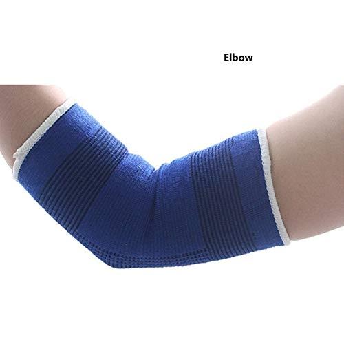 Elastischer SportschutzEllbogen Knieschoner Fitness-Studio Armband Manschette Elastischer Verband Polster Knöchelstütze- Ellbogen
