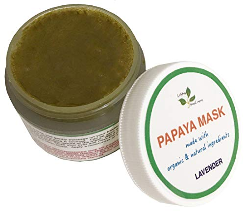 All Natural Papaya & Turmeric Mask with Lavender Essential Oil 2.5 oz