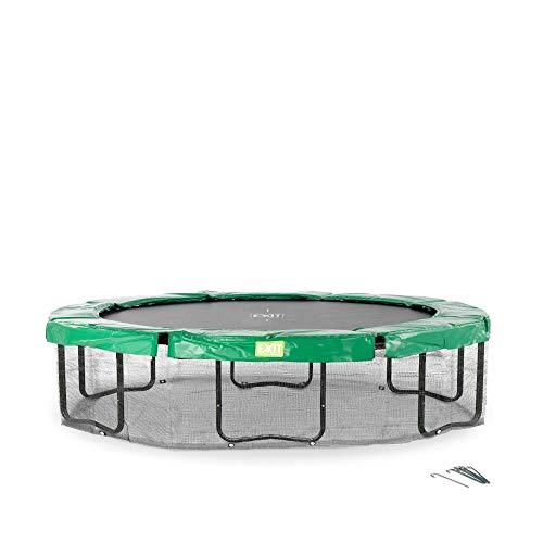 EXIT Trampolin Rahmennetz oval 305x427cm