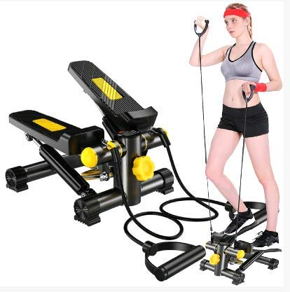 Stepper Desk MultiFunctional Eliptical Exercise Machine with Built in LCD Monitor