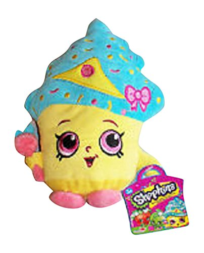 Shopkins 7.5 Inch Tall Cupcake Queen Limited Edition Plush