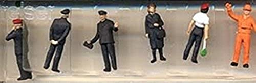 HO Scale Railway personnel DB 1989 by Preiser