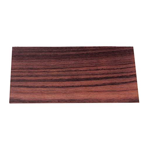 Artibetter Holz Gitarre Furnier Palisander Kopf Furnier Blatt Kopfplatte Resonanzboden DIY Schutzbrett Gitarre Gitarrenbauer Ersatzwerkzeug für Kunsthandwerk Banjo Mandoline