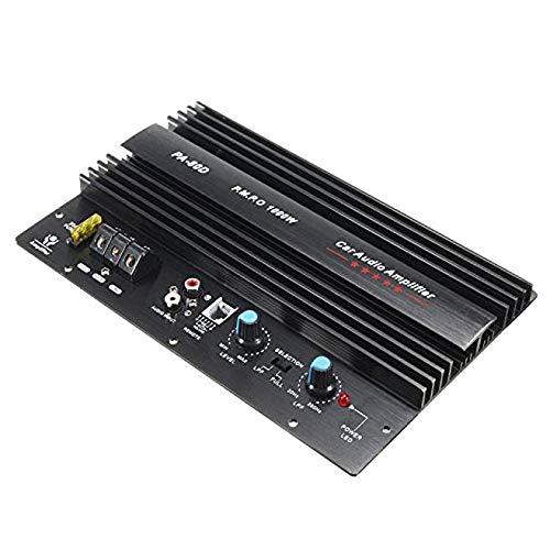 Sepikey Amplificador de Potencia de Audio para automóvil Mono Potentes subwoofers de Bajos