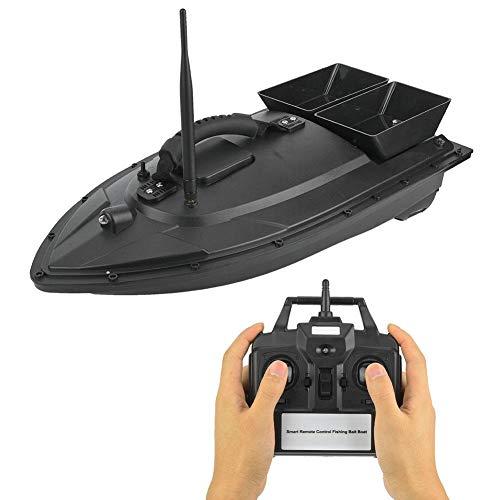 RiToEasysports 110-240V RC Fishing Bait Boat 500m Remote Control Fish Finder Bait Boat (UK-PLUG)
