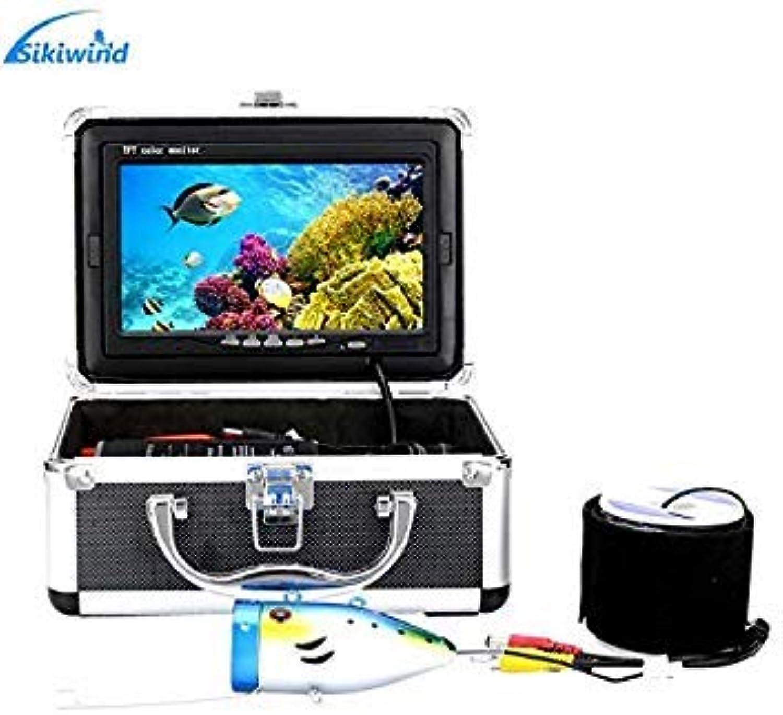 GEOPONICS 20M   30M 1000tvl Unterwasser FishingCamera Kit 12 PCSLights 7-Zoll-Monitor unter Wasser Angeln Finder 20m