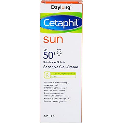 Cetaphil sun Daylong 50+ sensitive Gel-Creme, 200 ml Gel
