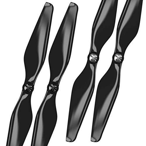 MAS Upgrade Propellers for Autel X-Star with Built-in Nut in Black - x4 in Set