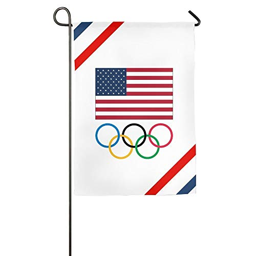 43LenaJon The 2016 Rio Olympic Games USA Home Flags House Flags Garden Flags