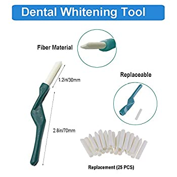 Brosse à dents pour chien - Brosse à dents douce à double tête - Soin dentaire pour chien - Élimine les dépôts et le tartre