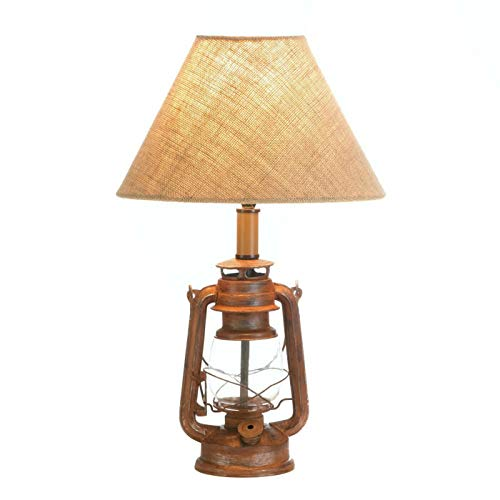 Tom & Co. Lámpara de Mesa con Aspecto Vintage para Camping
