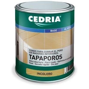 Tapaporos Madera Cedria 4 litros