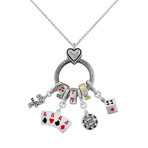 Poker Themed Necklace