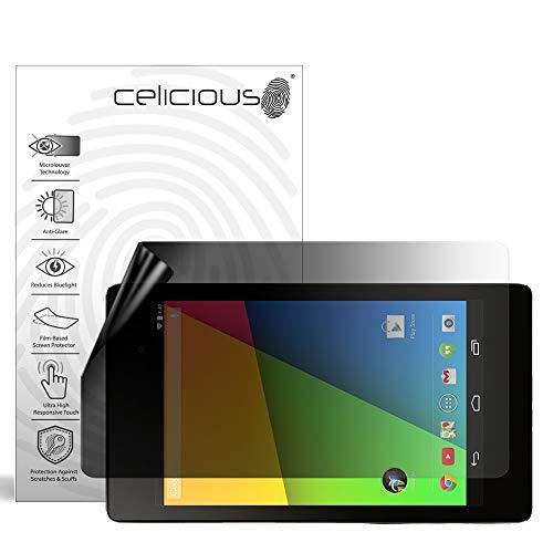 Celicious Privacy Lite 2-Way Anti-Glare Anti-Spy Filter Screen Protector Film Compatible with Google Nexus 7