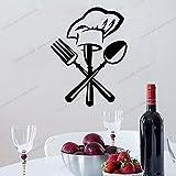 Zdklfm69 Pegatinas de Pared Adhesivos Pared Vinilo de Cocina para decoración del hogar Decoración de Comedor Cocina/Vino/Calcomanías de café Pegatinas Mural 76x97cm