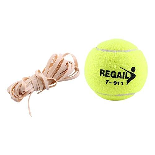 Tennis Allenamento ad Alta Elasticità Palla Allenamento con Corda Elastica in Gomma Formazione Professionale Formazione Tennis