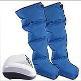 YYSDH - Masajeador de piernas y compresión, para pies, alfombrilla de aire de circulación Ultra-Quiet desmontable para las piernas de masaje, uso doméstico, pies
